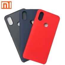 "Original Xiaomi Mi A2 Case MIA2 Luxury Back Cover A 2 4GB RAM 64GB Smart Phone 5.99"" protect shell Xiaomi design"