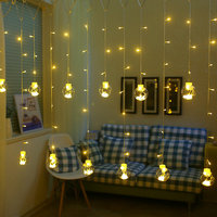 Transparent Wishing Balls LED Curtain Fairy String Lights Bar Wedding Garland Party Decoration Lights
