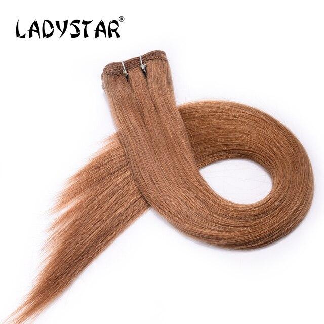 Ladystar Hair Brazilian Straight Human Hair Extension Human Hair