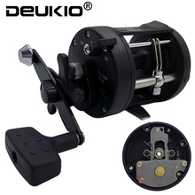 DEUKIO Trolling Reel Fishing 3.8:1 1BB TSSD3000L-4000L Black Right Hand Casting Sea Fishing Reel Saltwater Baitcasting Reel Coil