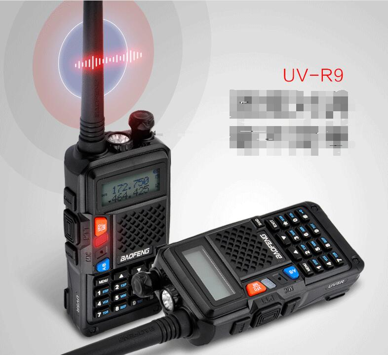 BaoFeng BF-R9 talkie walkie double bande 136-174 mhz 400-520 mhz USB directement chargeur radio bidirectionnelle