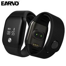 "A88 presión arterial 0.66 ""oled pantalla táctil smart watch impermeable pulsómetro salud smartwatch pulsera para ios android"
