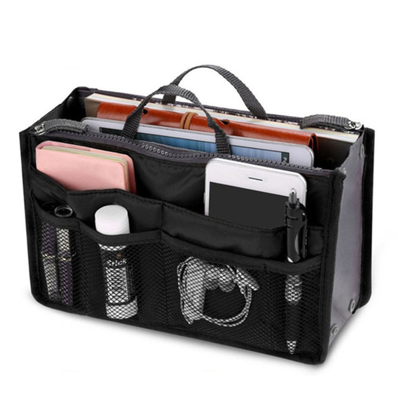 2019 Hot Cosmetic Bag Makeup Purse Handbag Organizer Ladies Bag Women Small Travel Organizer Female Wash Make Up Cosmetic Case