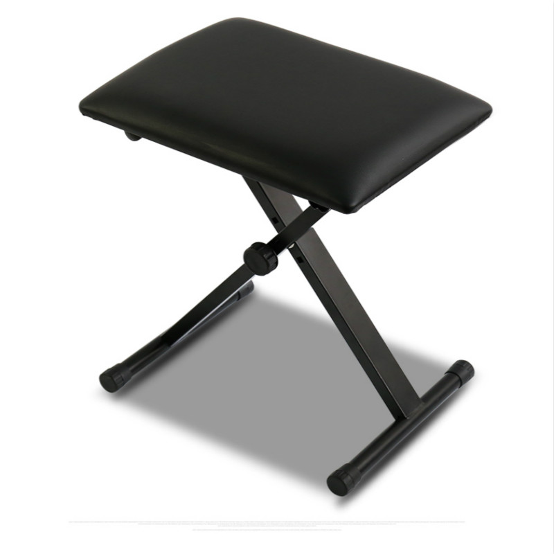 Folding Chair Rubber Feet Hanging Indoor Amazon Adjustable Piano Keyboard Bench X Frame Leather Padded Seat Stool