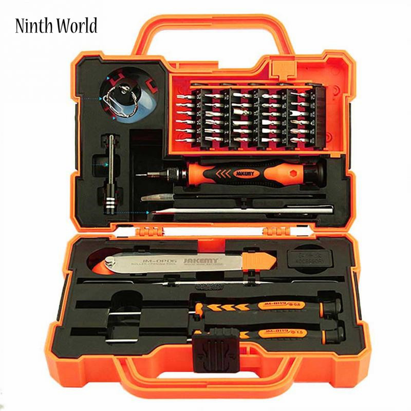 45 in1 Electronics Repair Tools Set Kit Multi Bits Screwdriver Set with Tweezers Spudger for Laptop Cellphone Tablet Repair Tool 45 in 1 electronics repair tool kit multi bits screwdriver set with tweezers spudger for laptop cellphone tablet repair