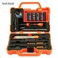 45 in1 Elektronica Reparatie Tools Set Kit Multi Bits Schroevendraaier Set met Pincet Spudger voor Laptop Mobiel Tablet Reparatie Tool
