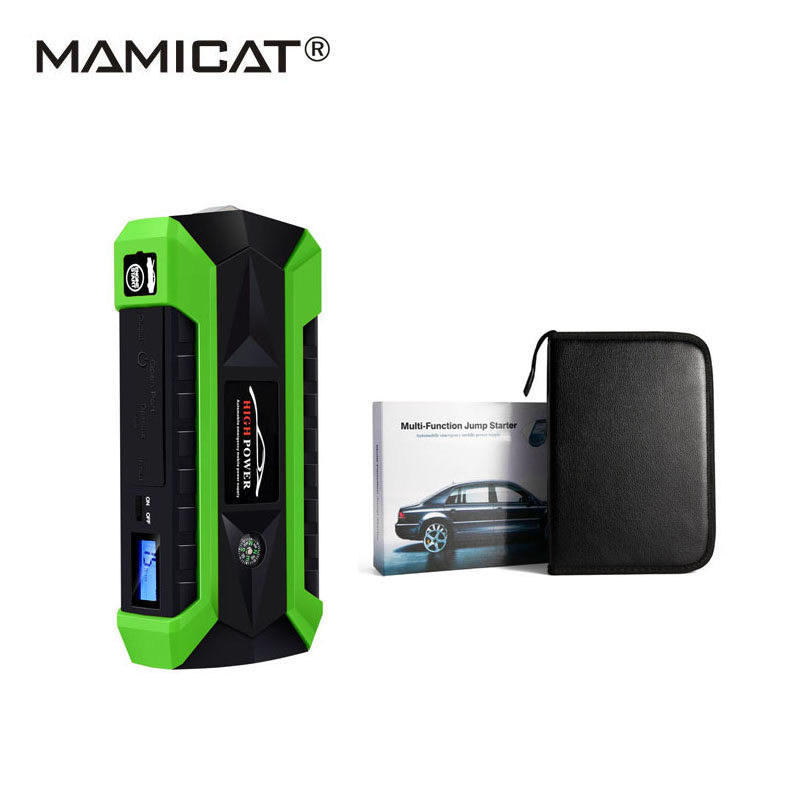 New Car Jump Starter for Petrol Car Battery Charger Emergency Auto Starting High Power Pack Bank For Digital стоимость