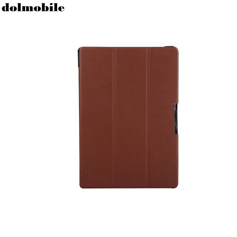dolmobile PU Leather Slim Cover with Stand Case for Lenovo Tab 10 TB-X103F X103F 10.1'' Tablet + Stylus Pen free shipping new 10 1 original stand magnetic leather case cover for lenovo ibm thinkpad 10 tablet pc with sleep function