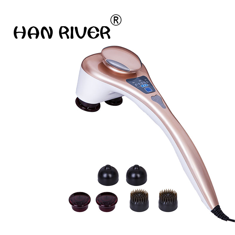 Double slider massage stick dolphin massage device electric cervical vertebra multifunctional the hammer meridiarns internality стоимость