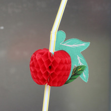 Fruit Style Straws 100 pcs/lot