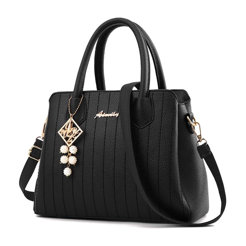 Europe Fashion Big Bag Women Shoulder Messenger Bag Ladies Handbag Bolsos Mujer Elegant Female Luxury Leather Handbags