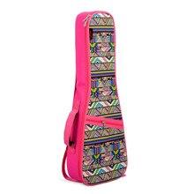 "21″ 23″ 26"" Ukulele Instrument Bags Ukelele Bag With Double Shoulder Strap Bag Canvas Guitar Bags & Cases National Wind"