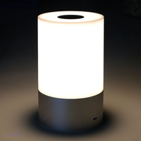 Wireless LED Table Lamp Touch Sensor Control Dimmable RGB Color Change Rechargeable Smart Table Lamp Night