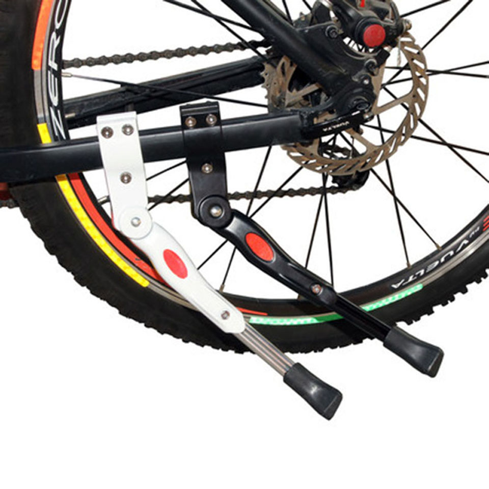 1Pcs Adjustable MTB Road Bicycle Kickstand Parking Rack Mountain Bike Support Side Kick Stand Foot Brace Cycling Parts