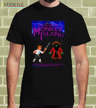 Hot 2019 Summer Men'S T Shirt Fashion MONKEY ISLAND VIDEOGAME ARCADE 1990 T-SHIRT per Uomo e Bambino T Shirt lupin iii 3 cartoon fela per uomo e bambino hoodies sweatshirt