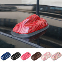 ABS Car Antenna Aerial Base Decoration Protection Cover Case Housing Decal For Mini Cooper F55 F56 Exterior Styling