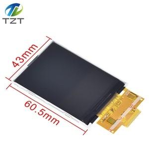 "Image 3 - 2.4 ""240 × 320 spi tft lcdシリアルポートモジュール + 5v/3.3v pbcアダプタマイクロsd ILI9341 ledタッチ/arduinoのための無接触"