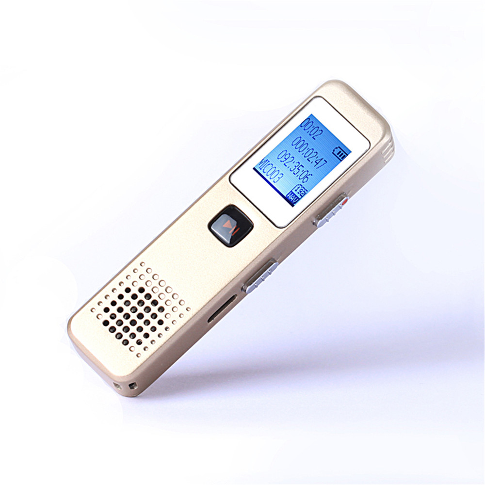 Super Min Professional Lcd Screen 8gb Digital Voice Recorder For Sony Icd Tx800 Ultra Compact Meeting Or Interview Recording With Mp3 And Speaker Function In From