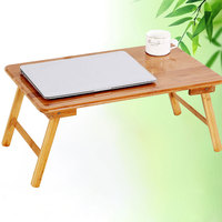 Folding Laptop Table Bed Computer Desks Bamboo Tafel Mesa Notebook Long Table For Sofa Bed Office