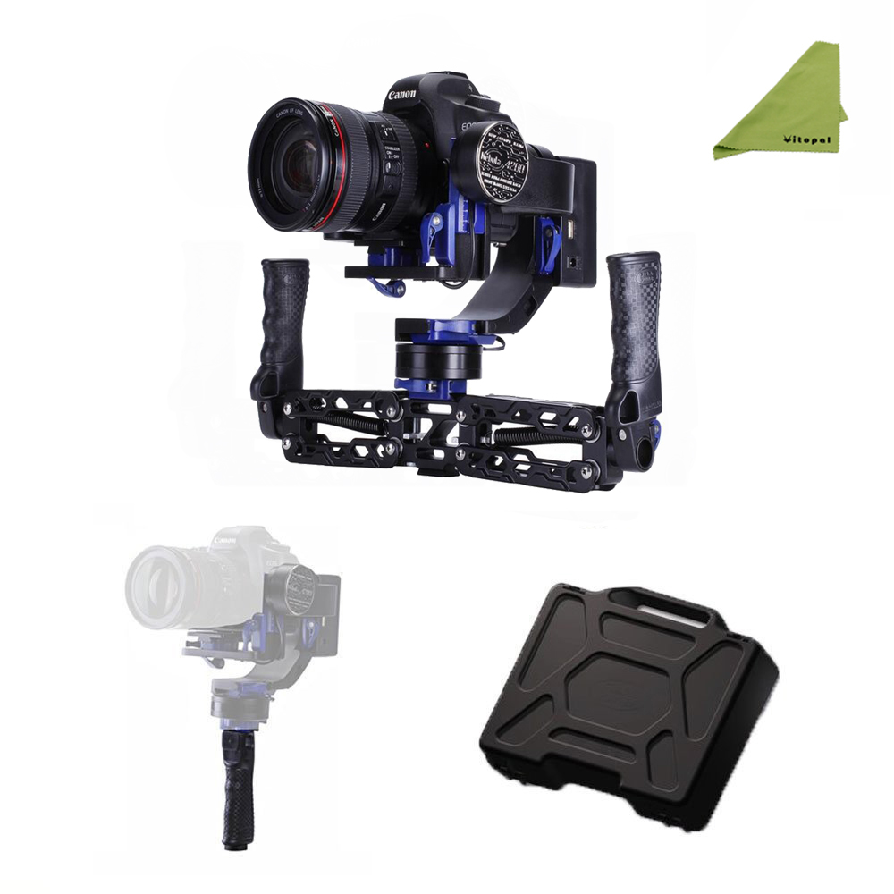 Nebula 4200 5 Axis Handheld Brushless 32bit Camera Gimbal Stabilizer for DSLR Canon Nikon Sony Mirrorless Series A7S Cameras