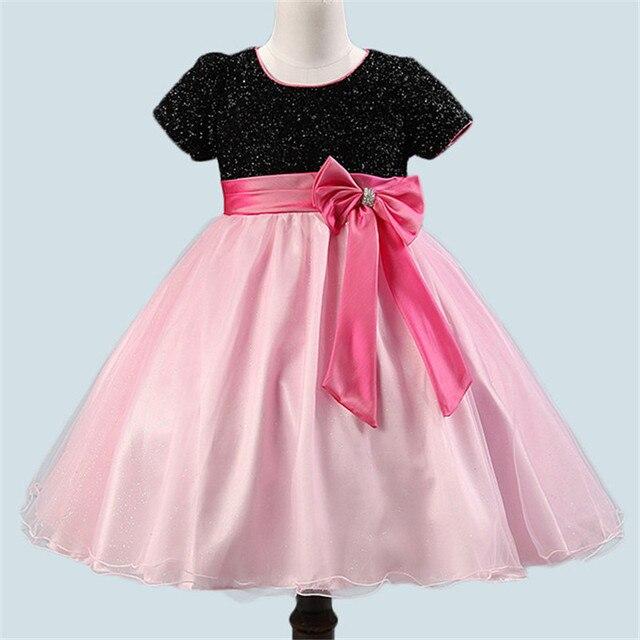 Formal Wear Girls Tutu Dress Children Ball Gown Kids Dresses For