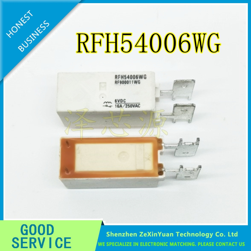 2PCS/LOT RFH54006WG RF900011WG RFH54006W RFH54006 Original New 100% TYCO Power Relay