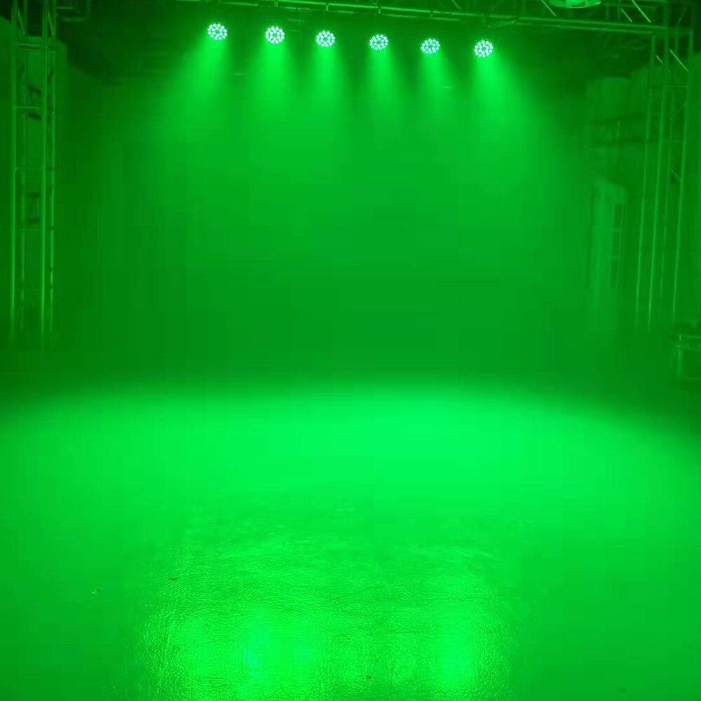 6 pçs lote discoteca dmx fase luz
