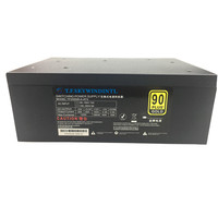 2000W Power Supply 2000W ATX PSU For Mining Machine Bitcoin Miner Modular Power Supply Cables 2000W Power Switch PC Pico PSU