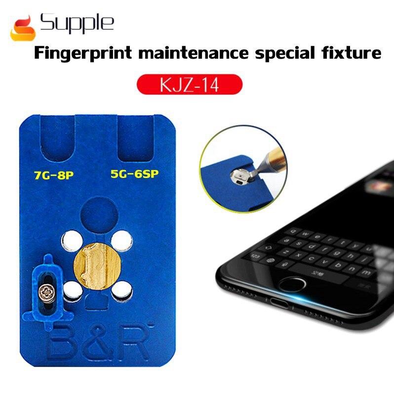 Plate-forme de Maintenance de base de réparation de bouton de maison le plus récent ou d'empreinte digitale pour iphone5/5 S/6G/6 P/6 S/6SP/7/7 P/8/8 P IC outil