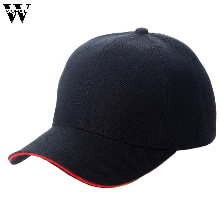 Amazing Summer New Unisex Baseball Cap Men Women Solid Color Adjustable Hats fashion solid color baseball cap for men and women