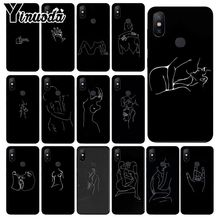 Yinuoda Minimalist style series lines TPU Phone Case Cover ffor Xiaomi Mi 6 Mix2 Mix2S Note3 8 8SE Redmi 5 5Plus Note4 4X Note5 цена