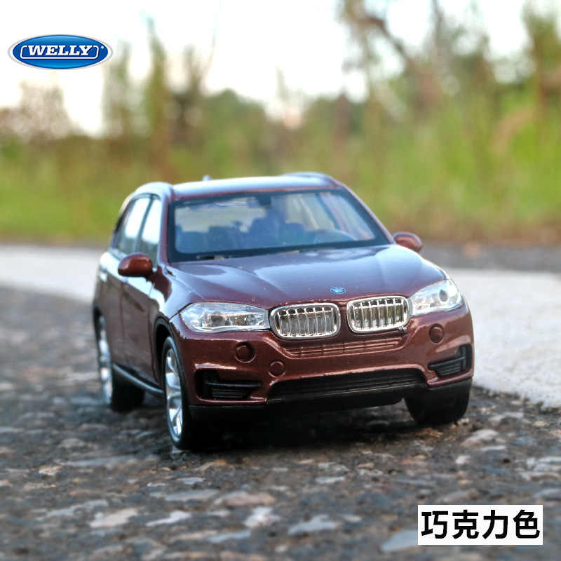 Free shipping 1:36 For BMW X5 Alloy Car Toy Model with Pull back function original box Simulation Model Car Toy For kid gift