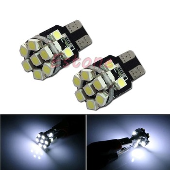 Hot 2016 Newest1PC T10 3528 13LED LED Bulbs For Car License Plate Lights White light New image