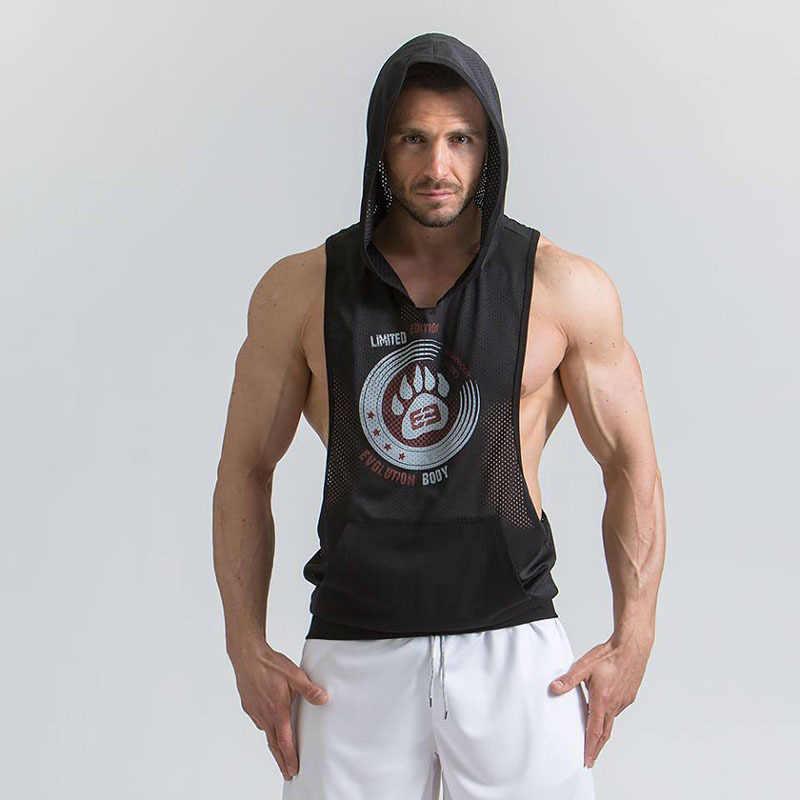 Мужская утягивающая для похудения рубашка жилет талии тренажер Карп сказка горячий формирователь тела сжигатель жира Корректирующее белье с капюшоном m-xxl