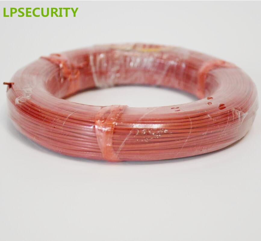 LPSECURITY 50m 0.75mm loop detector coil loop cable loop wire for vehicle loop detector цена