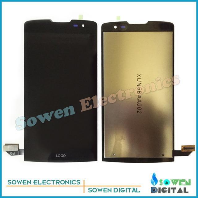 Para lg leon h340 h320 h324 h340n painel lcd screen display com tela de toque digitador montagem conjuntos completos, nova