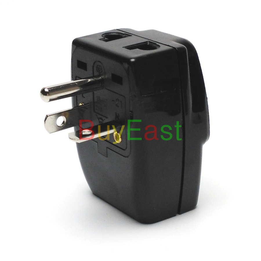 5 x North American NEMA 6 20P 3 Way Multi Outlet Electrical Plug ...