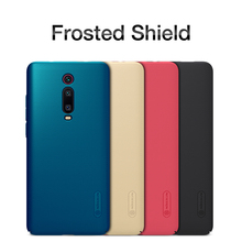 For Xiaomi mi 9T Global version Case mi9T pro Cover NILLKIN Super Frosted Shield Matte PC back cover case gift phone holder