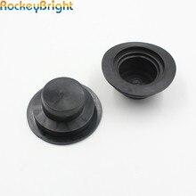Rockeybright HID светодиодный пылезащитный чехол для фар автомобиля водонепроницаемый Пылезащитная Резина уплотнительный налобный фонарь крышка для H7 H11 светодиодный налобный фонарь