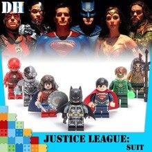 Batman Movie Joker Marvel DC Series Building Blocks Bricks Educational Gifts Toys For Children Legoings Harley Quinn