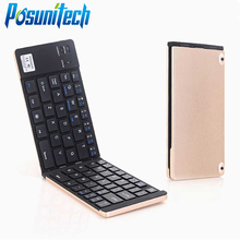 Universal Mini Wireless Bluetooth 3.0 Folding Foldable Keyboard for iPhone 7s/iPad Pro/MacBook Mobile Phone Tablet PC