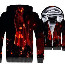 2018 winter 3D Print hip-hop coat Uchiha Itachi men Ootutuki Hagoromo sweatshirt man Anime hipster jacket Uzumaki Naruto jackets