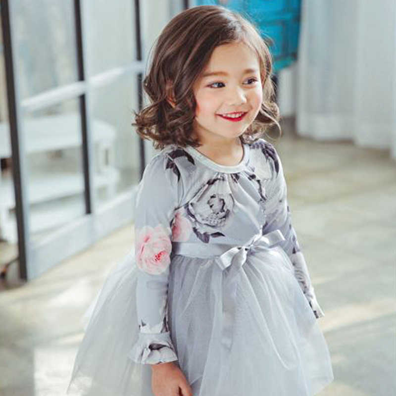 8842c9f25f13 ... Kids Baby New Autumn Winter Dresses Long Sleeves Princess Costumes  Girls Casual Dress for 3 4 ...