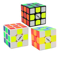 Qi Yi Mo Fang Ge Valk 3 Mai Shen 3*3*3 Magic Cubes Puzzle Speed Revenge Cube Educational Toys Gifts for Kids Children