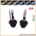 2 UNIDS D2R Xenon HID bombilla 35 W 55 W 4300 k 6000 k 8000 k 5000 k 10000 k HID KIT de Repuesto de Coche Faro HID D2R Lámpara de Xenón de Luz