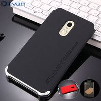 10pcs Lot Wholesale Case For Xiaomi Redmi Note 4x Case Aluminum Metal Frame PC Back Cover