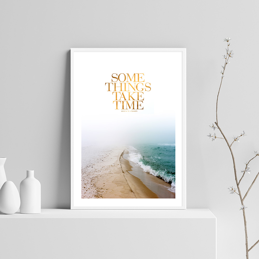 Landscape Wall Art Canvas Poster Print Minimalist Scandinavian Painting Decorative Picture for Living Room Nordic Decoration in Painting Calligraphy from Home Garden