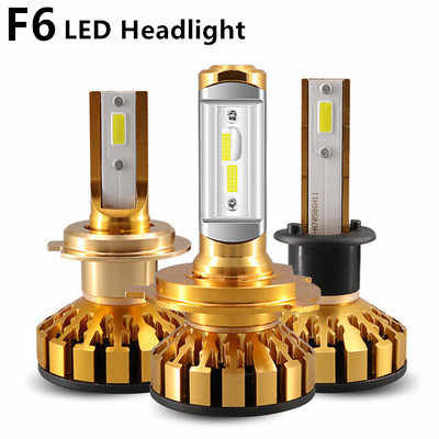 PAMPSEE K5 Car Headlight H7 Led H4 Bulb H1 H3 H8 H11 9005 HB3 9006 HB4 H27 with DOB Chips 80W 12000LM 6000K 12V Led Auto Lamp
