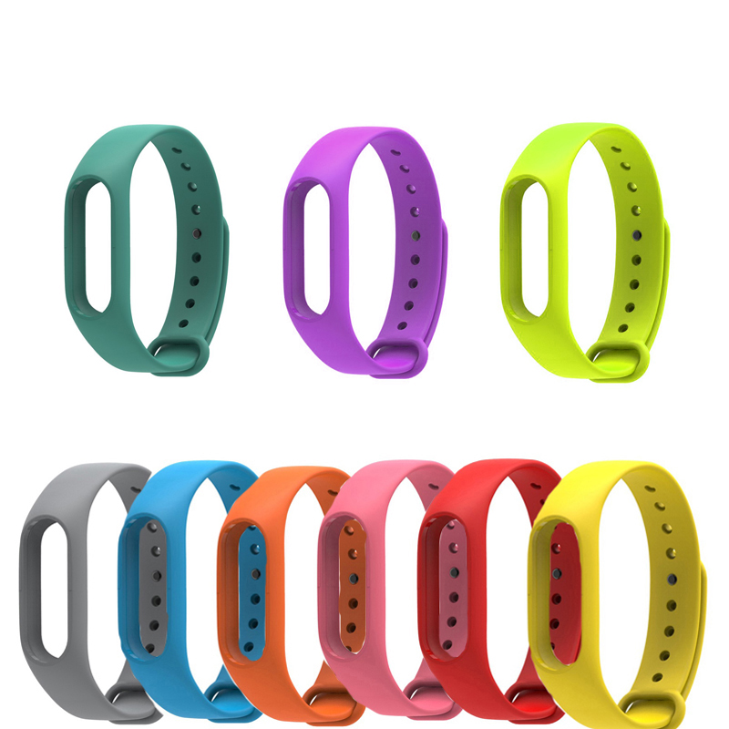 2018 Colorful Strap Wristband Xiaomi Mi Band 2 Bracelet Strap Miband 2 Replacement Smart Band Accessories for Mi Band 2 Silicone tearoke colorful silicone strap for xiaomi mi band miband 1 1s bracelet replacement wristband band accessories reemplazo pulsera