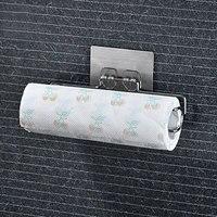 自宅保管耐久性のあるしっかり収納棚ロール紙収納ホルダータオルバー浴室トイレオーガナイザー
